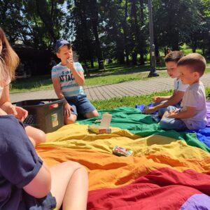 Smerfne Lato – Piknik W Parku – 4