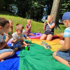 Smerfne Lato – Piknik W Parku – 6