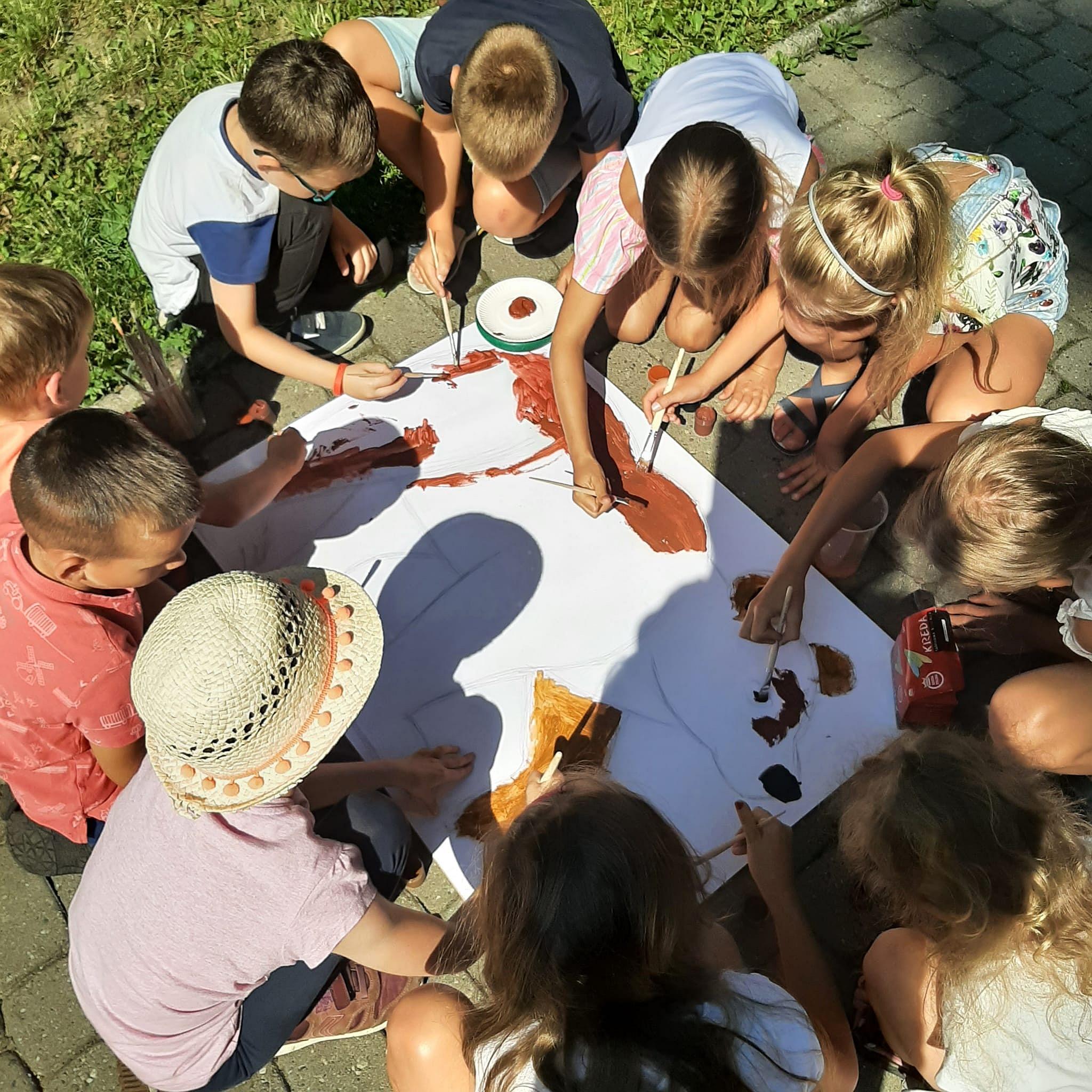 Szaleństwa Pana Brumma - Wakacyjne Zabawy Z Książką - Lato 2021 - Zajęcia W Parku Miejskim
