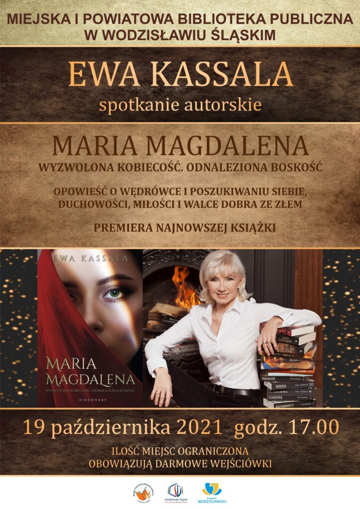 Ewa Kassala - spotkanie autorskie - 19 października 2021, godz. 17.00