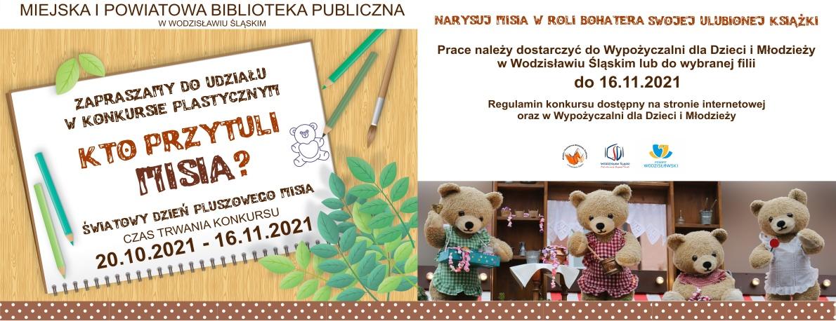 www.baner_.Kto-przytuli-misia-konkurs-plastyczny