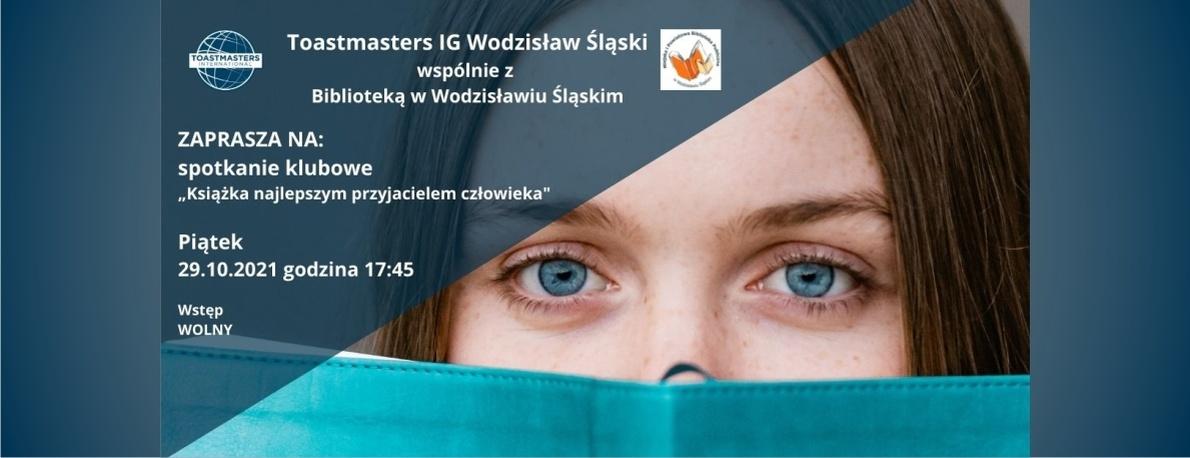 www.baner_.Toastmasters-IG-Wodzisław-Śląski-Książka-najlepszym-przyjacielem-człowieka